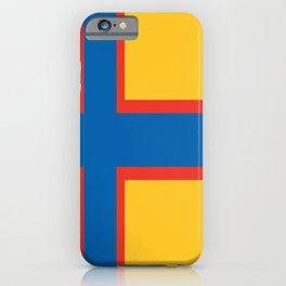 flag of Ingria iPhone Case