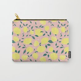 Squeeze a Lemon Carry-All Pouch