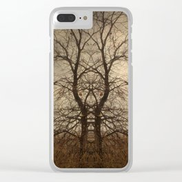 Jacob's Ladder Clear iPhone Case