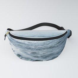 Ocean Wave.Oregon Coast.West Coast.Blue Water.Water Texture.Sea.PNW.Pacific Ocean. Fanny Pack