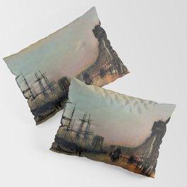 John Atkinson Grimshawn - Canny Glasgow - Digital Remastered Edition Pillow Sham