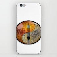 yin yang iPhone & iPod Skins featuring yin yang by Vector Art