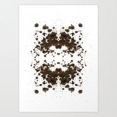 Symmetria Silver Art Print