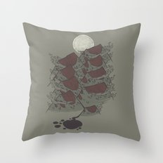 There's Chocolate in those Mountains Throw Pillow