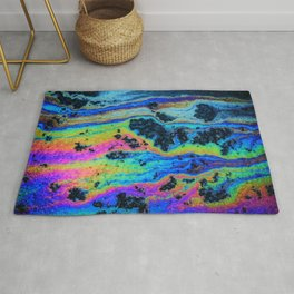 Oil On Pavement: Mind Trip Rug