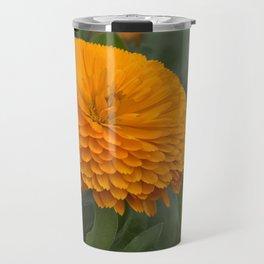 Calendula Flower Travel Mug