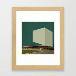 Block 46 Framed Art Print
