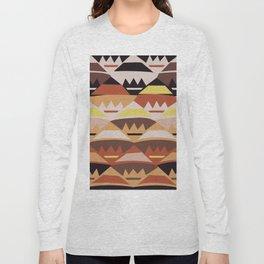African Tribal Pattern No. 27 Long Sleeve T-shirt