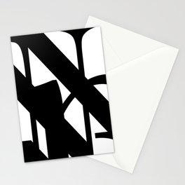 Hidden Letters. Baskerville N Stationery Cards