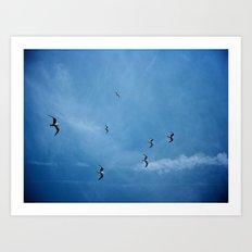 Birds of a Feather (B2) Art Print