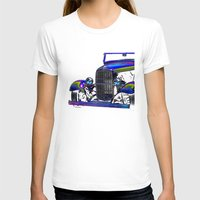 ford T-shirts featuring Ford Abstract by Beach Bum Pics