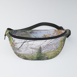 Winding River in Autumn Fanny Pack