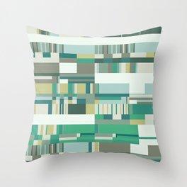 Debussy Little Shepherd (Greens) Throw Pillow