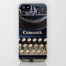 Corona Typewriter iPhone (5, 5s) Slim Case