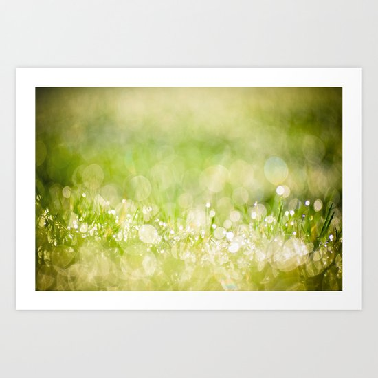 morning dew no.2 Art Print