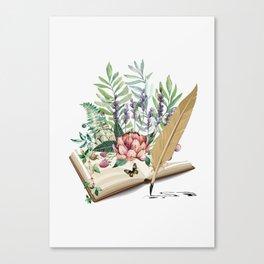 Book Canvas Print
