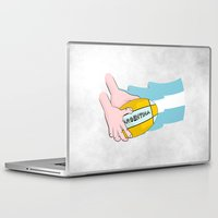 argentina Laptop & iPad Skins featuring Argentina Rugby by mailboxdisco