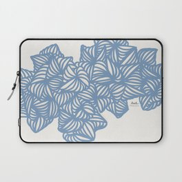 Les Coquilles Bleues - baby blue shells Laptop Sleeve