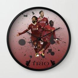 Liverpool trio attack Wall Clock