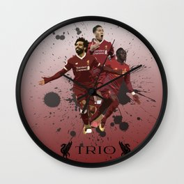Liverpool trio attack Wall Clock