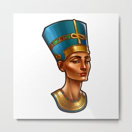Nefertiti's Quest : Nefertiti Metal Print