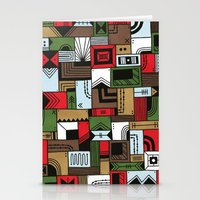 home alone Stationery Cards featuring Not Home Alone by Nick Villalva