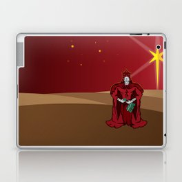 Third Wise Skull Laptop & iPad Skin