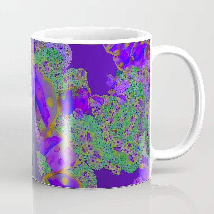 """Be yourself (Pop Fantasy Colorful Pattern 02)"" Coffee Mug"