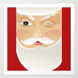 Your Santa Art Print