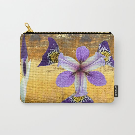 In the eye of the Iris Carry-All Pouch