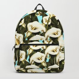 Pattern floral Ethiopian-Calla Backpack