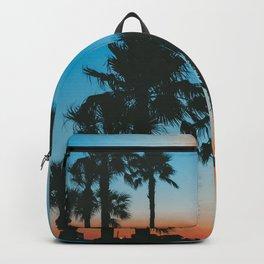 Galveston Sunset 1 (Retro) Summer Backpack