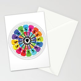 Pick A Color Stationery Cards