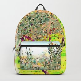 Laureana Cilento: silos in the olive grove Backpack