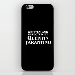 Written and Directed iPhone Skin
