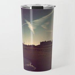 Ocean City Beach Travel Mug