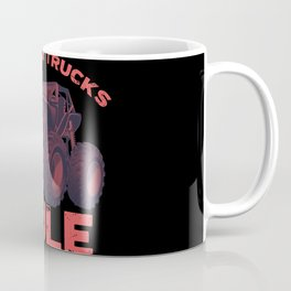 Awesome Monster Trucks Rule Funny Trucks Gift Coffee Mug