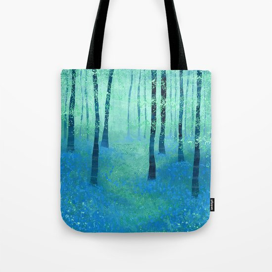 Bluebells, Challock Tote Bag