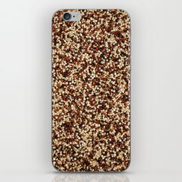 Mixed quinoa iPhone Skin