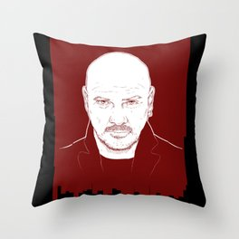 Baz Warne Throw Pillow