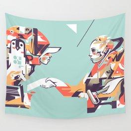 Handshake Wall Tapestry