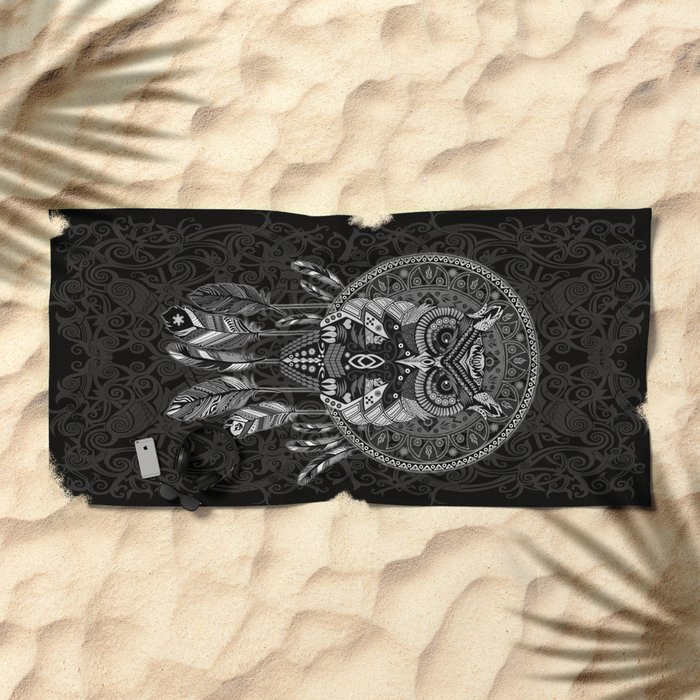 Indian Native OwL Dream Catcher iPhone 4 4s 5 5s 5c, ipod, ipad, pillow case and tshirt Beach Towel