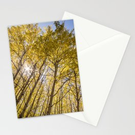 Sparkling Autumn Stationery Cards