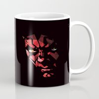 darth Mugs featuring Darth Maul by Roland Banrevi