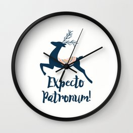 Expecto patronum! Wall Clock