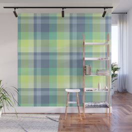 Summer Plaid 4 Wall Mural