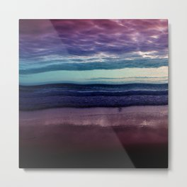 Abstract Sunrise Metal Print