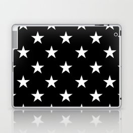 Stars (White/Black) Laptop & iPad Skin