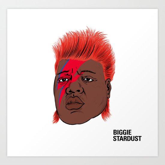Biggie Stardust Art Print