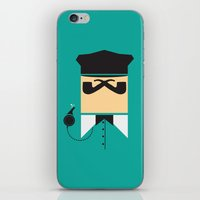 persona iPhone & iPod Skins featuring Persona Series 001 by Sobriquet Studio